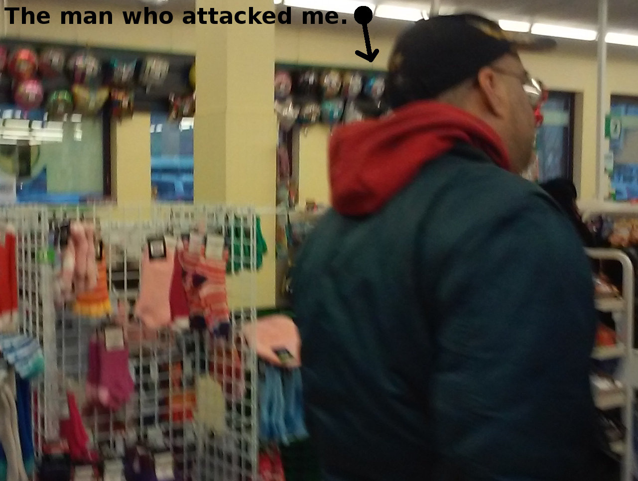 Dollar Tree Attacker